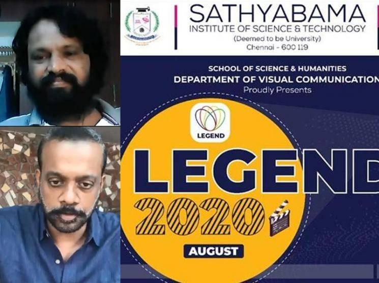 Gautham Menon, Cheran, Maria Lafi take part in Sathyabama's Legend 2020