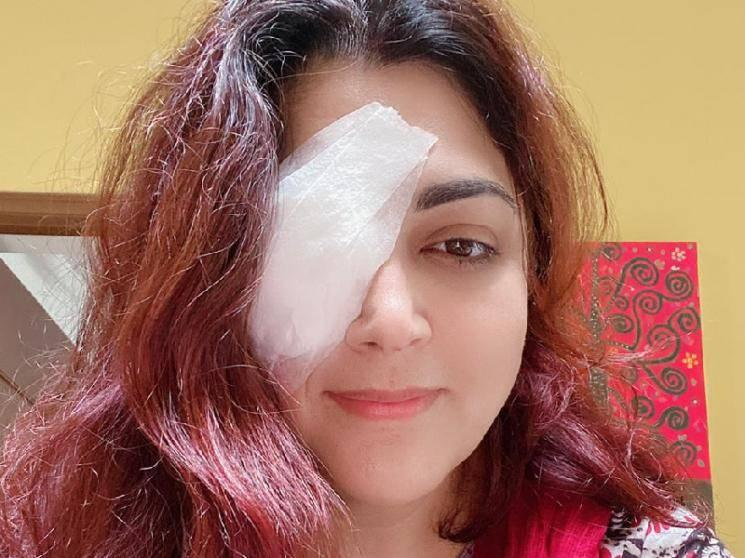 Khushbu Sundar injures her eye with a knife - fans pray for her fast recovery!