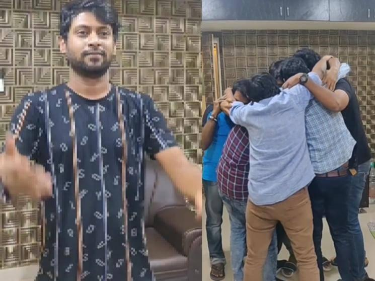 Rio gets an emotional send off from his friends before entering Bigg Boss | Trending video
