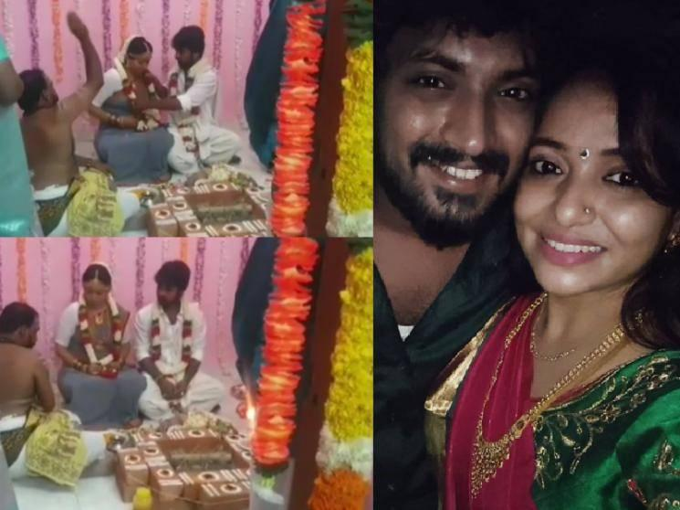 Actress Minnal Deepa shares her wedding video - check out!