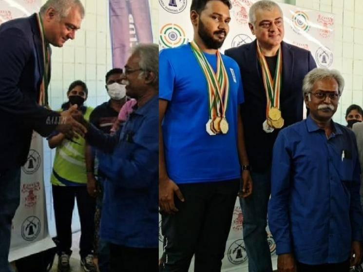 Thala Ajith becomes a Champion - wins Gold Medal | Watch VIDEO here!