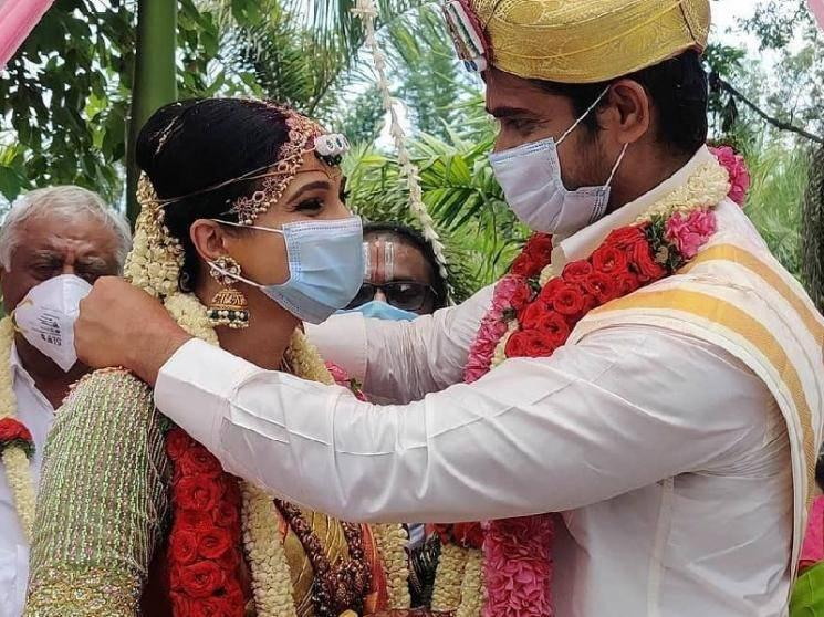 WOW: This popular Tamil serial actress gets married to her boyfriend during lockdown!