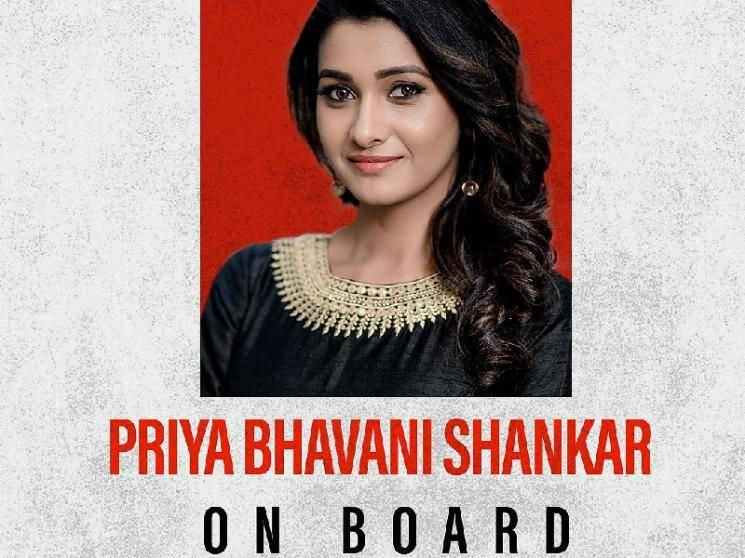 OFFICIAL: Priya Bhavani Shankar onboard for this exciting action thriller!
