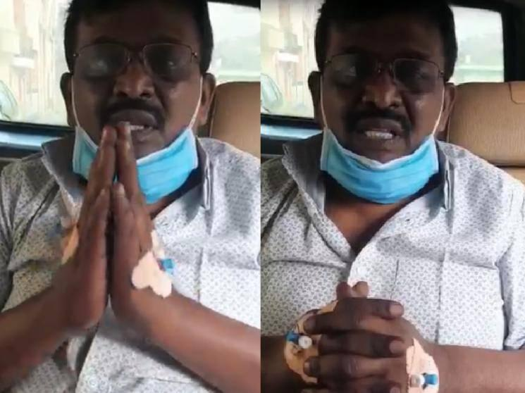 Popular Tamil comedy actor Benjamin suffers heart attack - requests for financial aid!