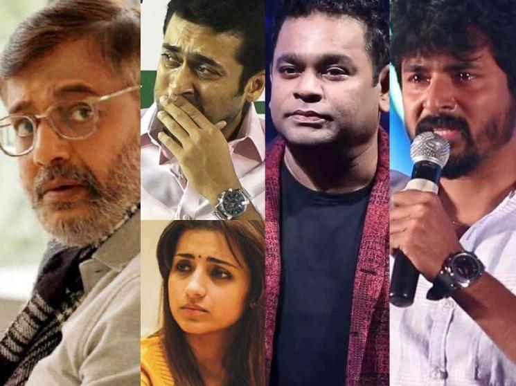 Leading Kollywood stars mourn the unfortunate demise of actor Vivekh!
