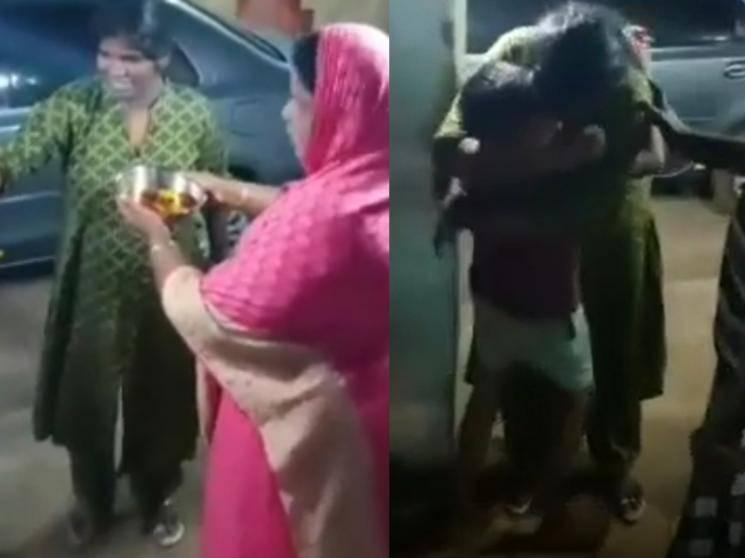 VIDEO: Nisha receives a warm welcome | reunites with her family after 70 days!