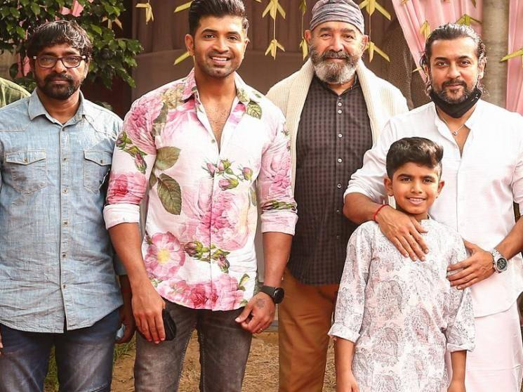 OFFICIAL: Arun Vijay's son launched as an actor in Suriya's next movie!