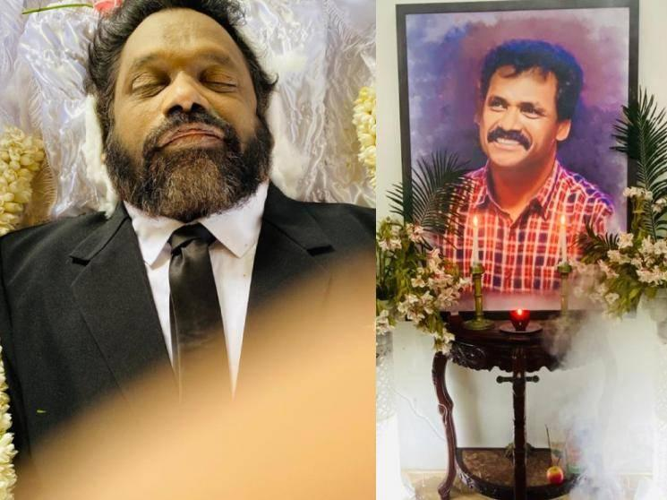 Losliya's father Mariyanesan Funeral Event: Photos released!