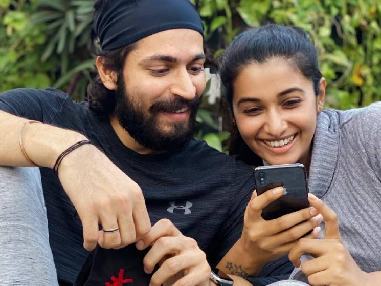 Harish Hearts Priya! New Romantic Picture goes viral | #LoveIsInTheAir