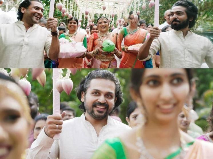 Suriya, Karthi and GV Prakash's lovely gesture at Sudha Kongara daughter's wedding!
