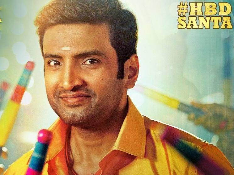 Santhanam's next film's title and First Look Poster released - Check out!