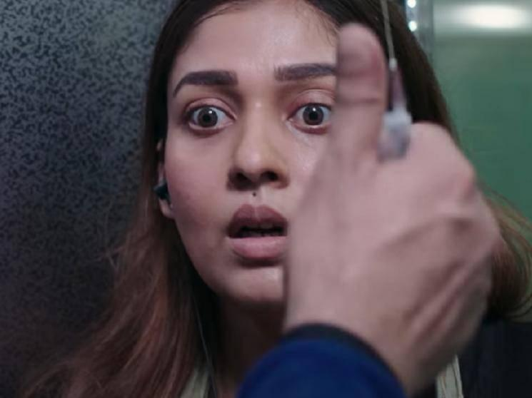 Nayanthara's Netrikann Official Teaser - Intriguing and thrilling!