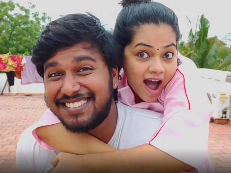 """My Devasena is back"", Anitha Sampath husband's first trending picture   Bigg Boss"
