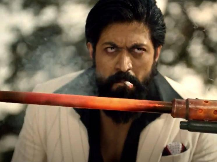 SURPRISE: KGF Chapter 2's electrifying TEASER is out - Rocky Bhai is back!
