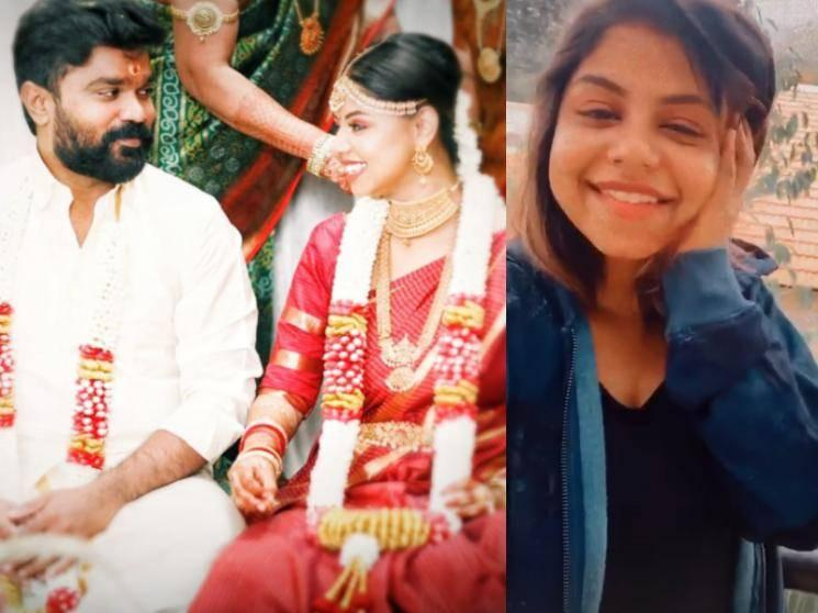 Popular Tamil serial actress gets married to her boyfriend - wedding photos go viral!