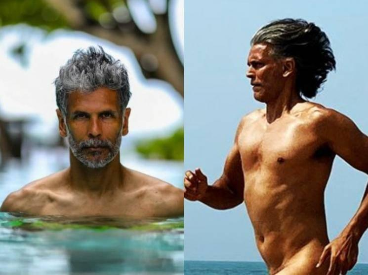 Model-actor Milind Soman celebrates birthday by running nude on the beach - viral pic!