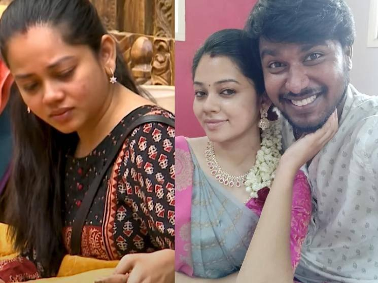 Anitha Sampath's husband reacts to Anitha's uncontrollable tears | Bigg Boss