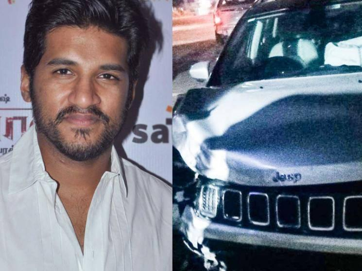 Singer Vijay Yesudas meets with an accident - escapes unhurt | Breaking Details here