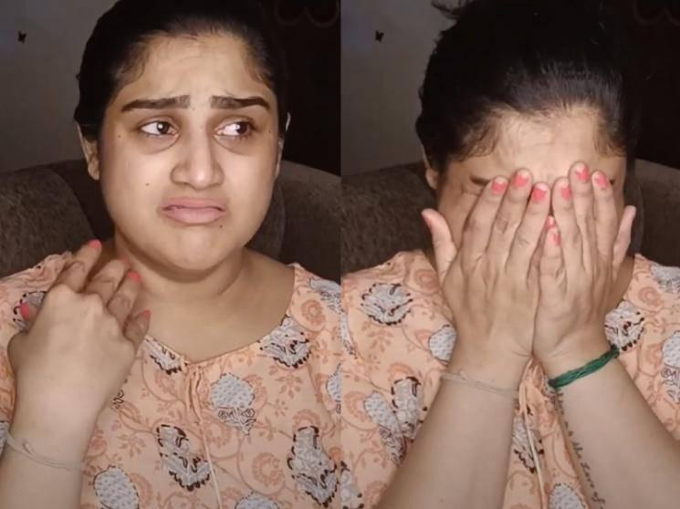 Vanitha breaks down into tears in her new video | Peter Paul Breakup