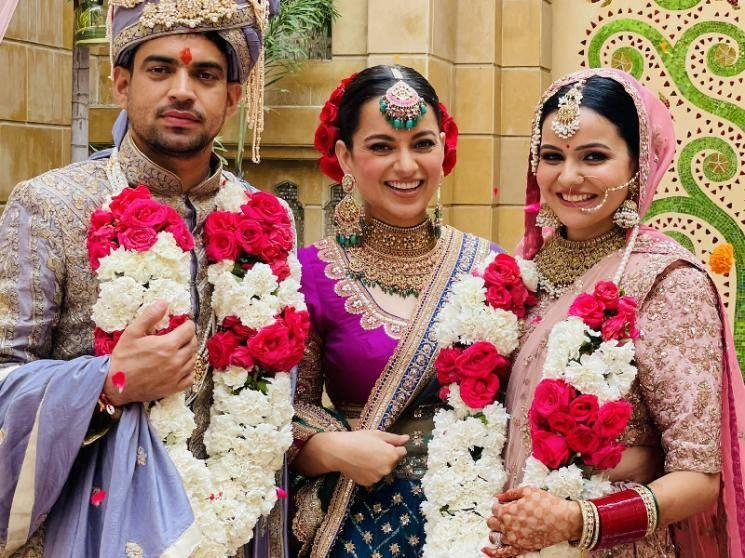 Wedding bells at Kangana Ranaut's household - trending photos here!