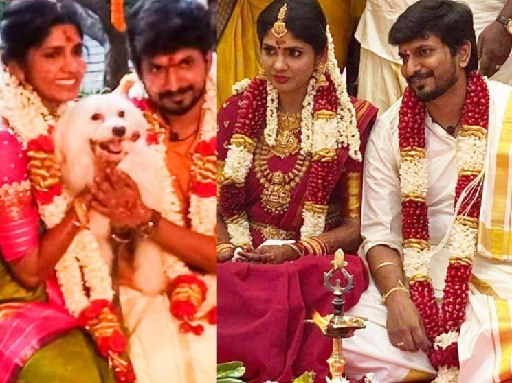 Director Desingh Periyasamy and Niranjani Ahathian get married! Wedding Photos here!