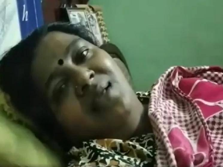 Popular Tamil actress bedridden - diagnosed with breast cancer | Emotional Video