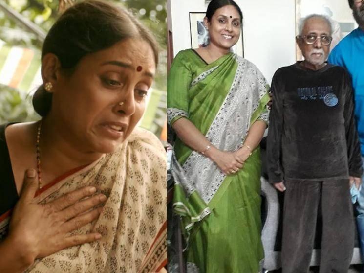 Deepest condolences to Saranya Ponvannan