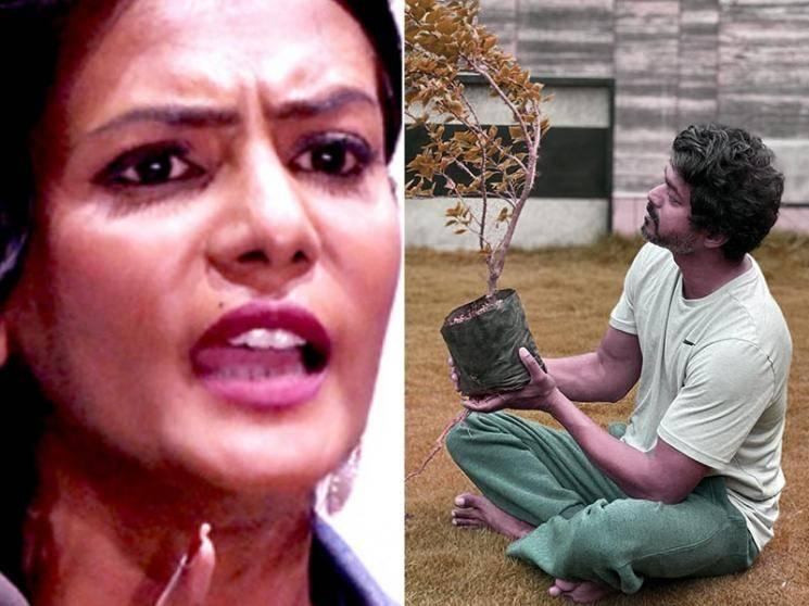 Meera Mithun's new controversial statement about Thalapathy Vijay