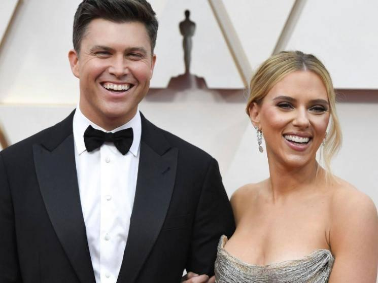 Avengers actress Scarlett Johansson ties knot with comedian Colin Jost