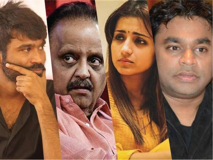 Celebrities share their condolence messages for SP Balasubrahmanyam's demise!