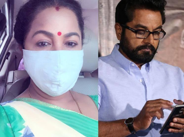 Sarathkumar tested positive for Covid-19 | Radikaa's important statement!