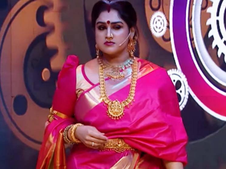 Baahubali Spoof in Kalakka Povathu Yaaru | Vanitha Vijayakumar as Sivagami | New Promo