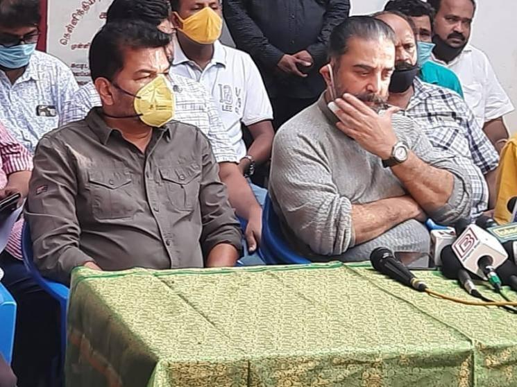 Indian 2 Accident: Kamal Haasan - Shankar hand over 1 crore cheque to the families of the deceased!