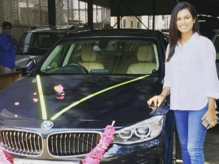 Bigg Boss sensation Ramya Pandian buys a brand new BMW Car - Pictures go viral | Check Out
